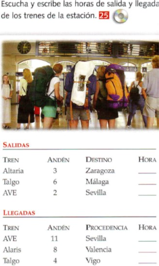 Audio A1. Megafonía estación de trenes