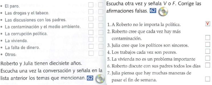Audio A2. Conversación entre Roberto y Beatríz