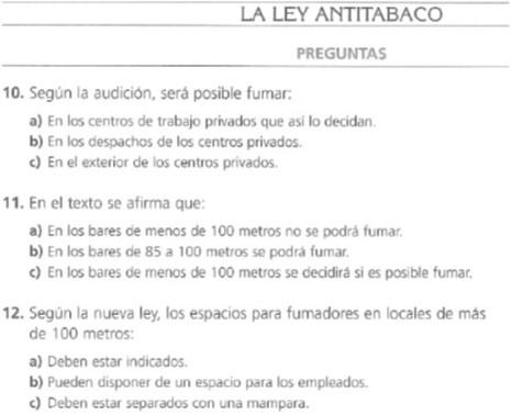 Audio B2. La lay antitabaco