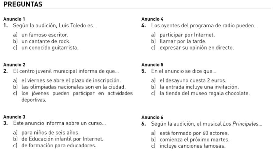 Audio DELE B1 Luis Toledo