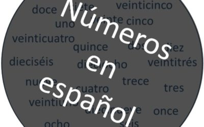 Цифры на испанском